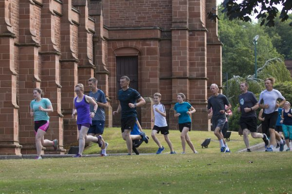 Parkrun at The Crichton