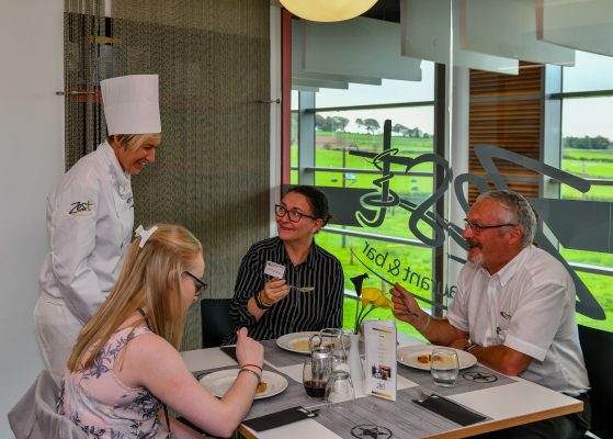 Zest Restaurant at Dumfries & Galloway College